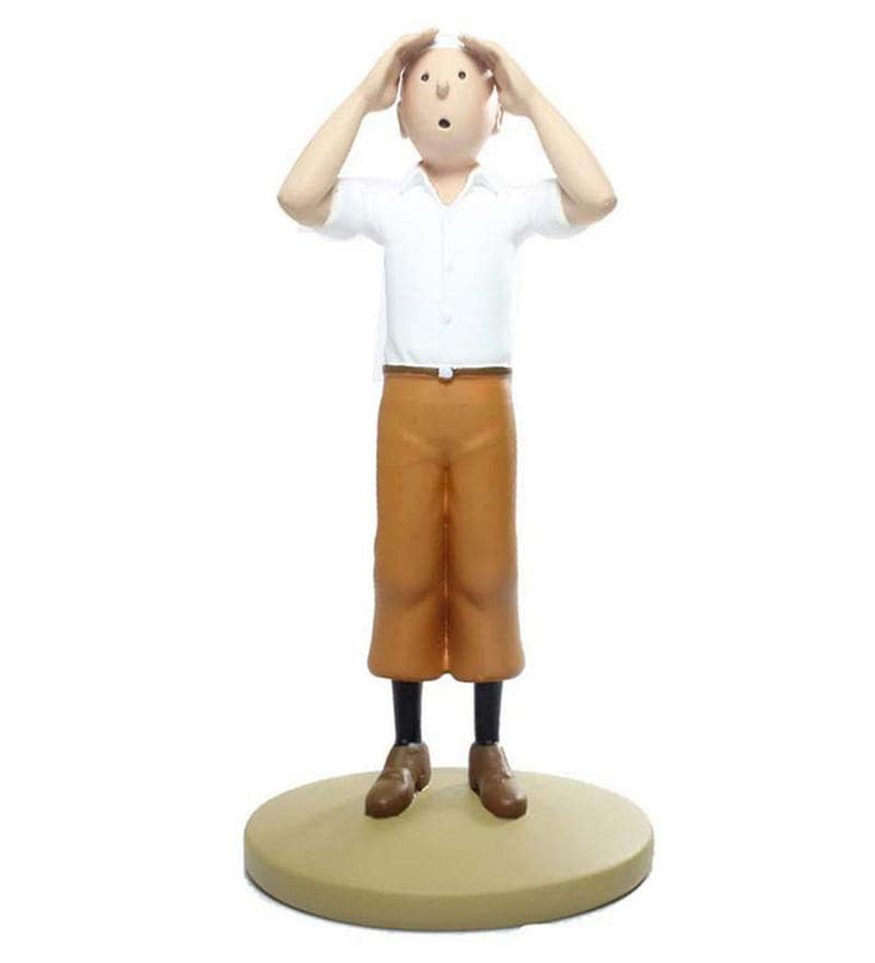Tintin In The Desert Statue by Entertainment Store