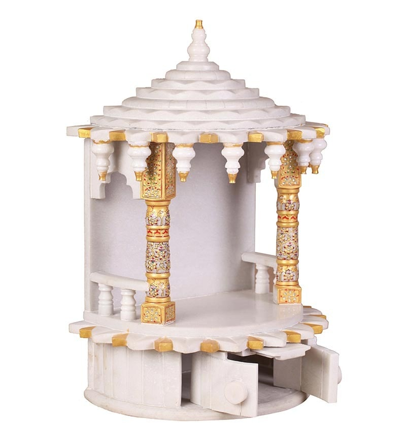 Buy Tirth White Marble Temple Online Temples Temples