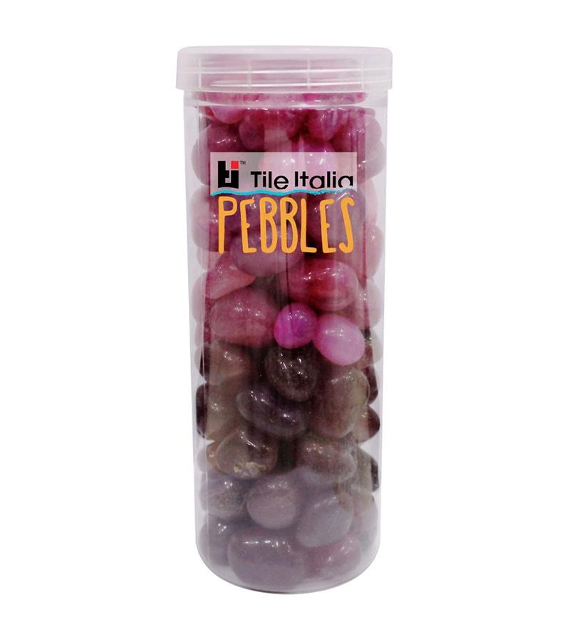 Tile Italia Pebbles Ruby & Garnet Stone Onyx Pebbles - 1 Kg