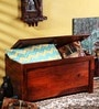 Oakland Trunk Box in Honey Oak Finish by Woodsworth