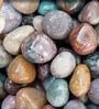 Multicolour Stone Fancy Pebbles - 1 Kg by Tile Italia Pebbles