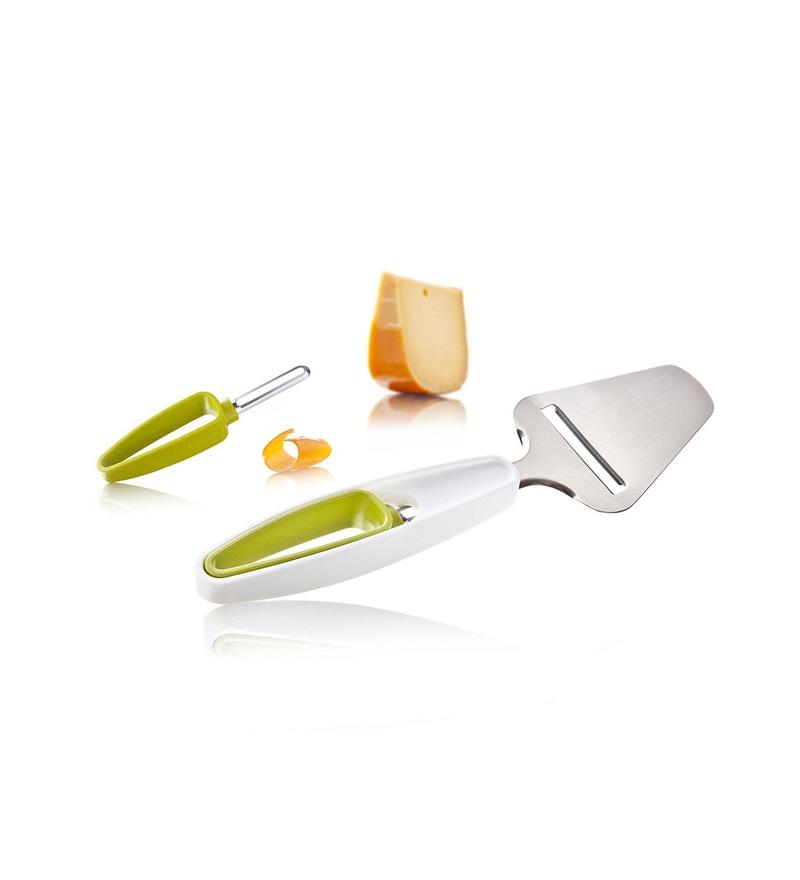 Tomorrows Kitchen Plastic Plus Cheese Slicer & Rind Peeler