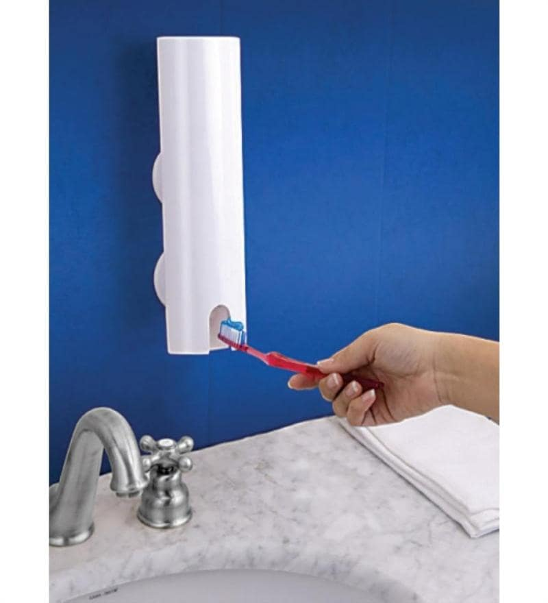 Buy Touch Amp Brush White Acrylic Bathroom Accessories Set