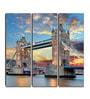 Hashtag Decor Engineered Wood 6 x 18 Inch London Tower Bridge Framed Art Panel