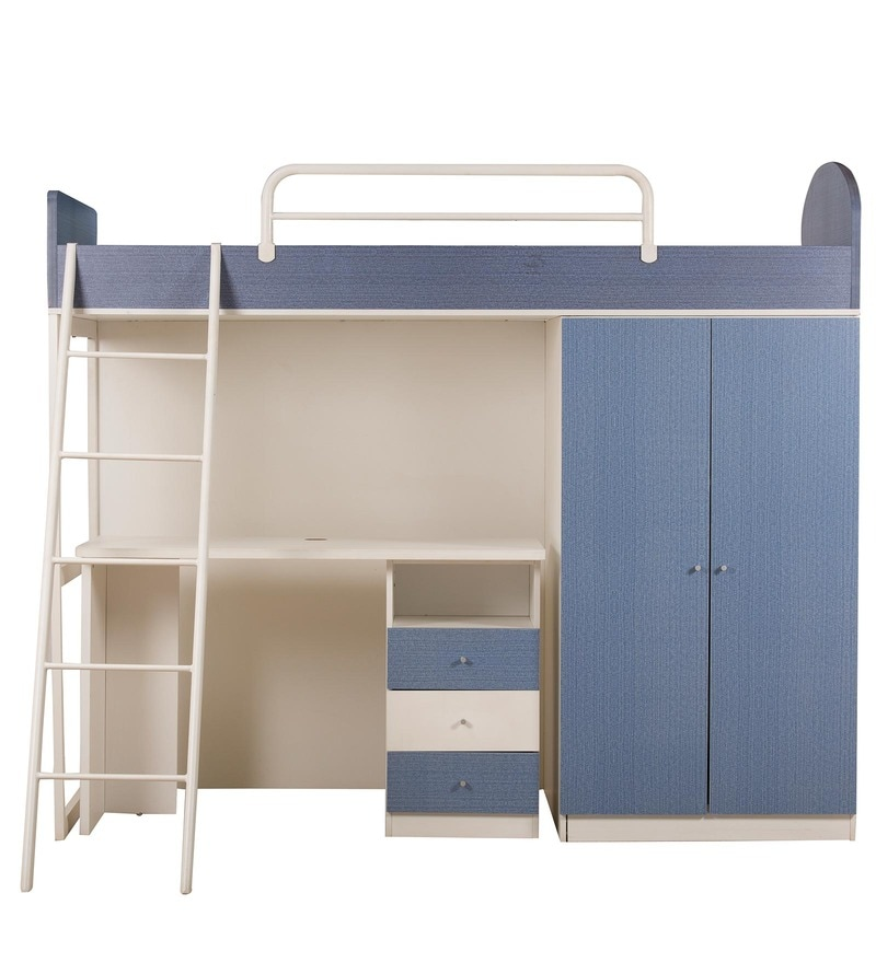 Quot Buy Trendy Denim Space Saver Bunk Bed Cum Wardrobe