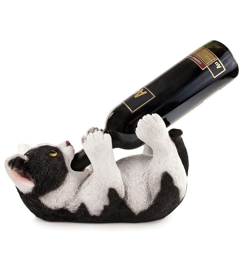 True Klutz Kitty Bottle Holder
