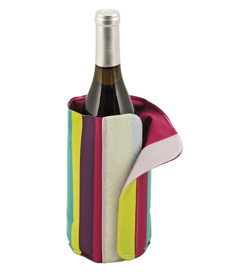 True Retro Wine Bottle Cooler Pack