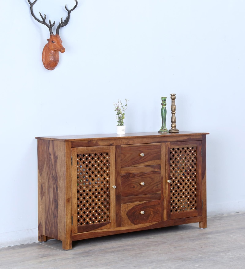 Trydelt Two Door Sideboard with Three Drawers by Amberville