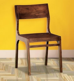 Tulsa Dining Chair In Provincial Teak Finish By Woodsworth