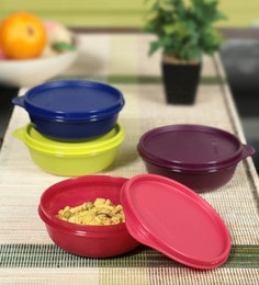 336 Options in lunch boxes. Tupperware Buddy Multicolour 300 Ml Bowl - Set of 4 ...