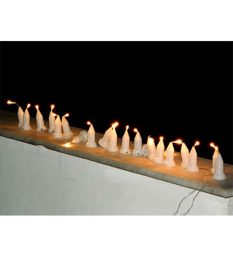 Electric Candle Diwali Lights by Tu Casa
