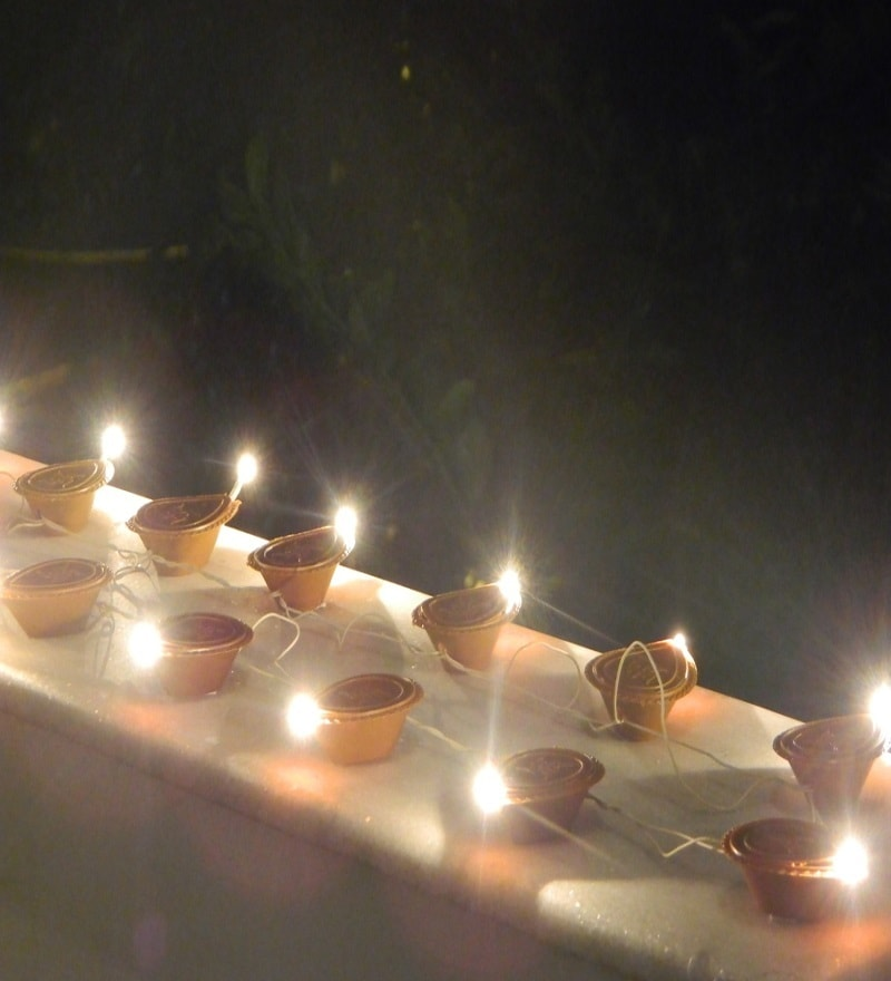 Buy Tu Casa Diwali Electric Diya Lights Online