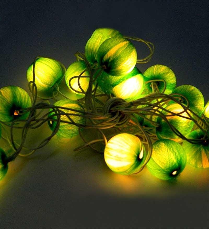 Tu Casa Green  String Light