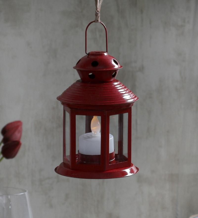 c2ba5c9fab810 Buy Iron Festive Lantern by ExclusiveLane Online - Hanging Lanterns ...