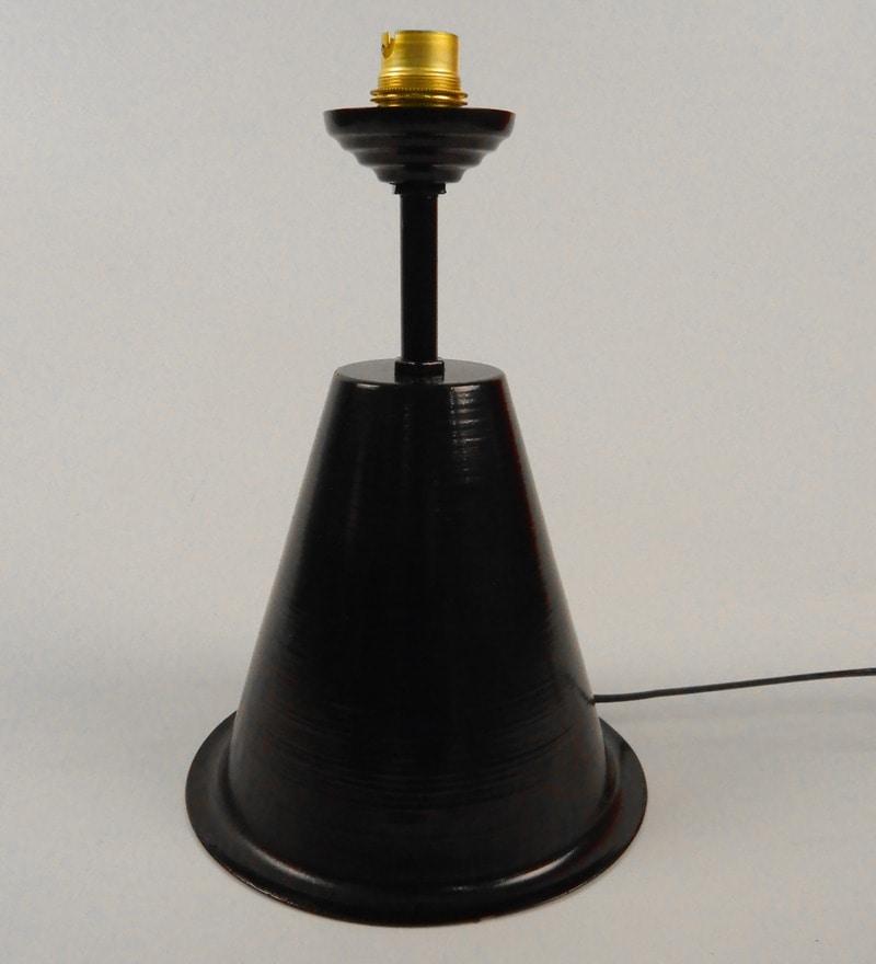 Black Iron Lamp Base by Tu Casa