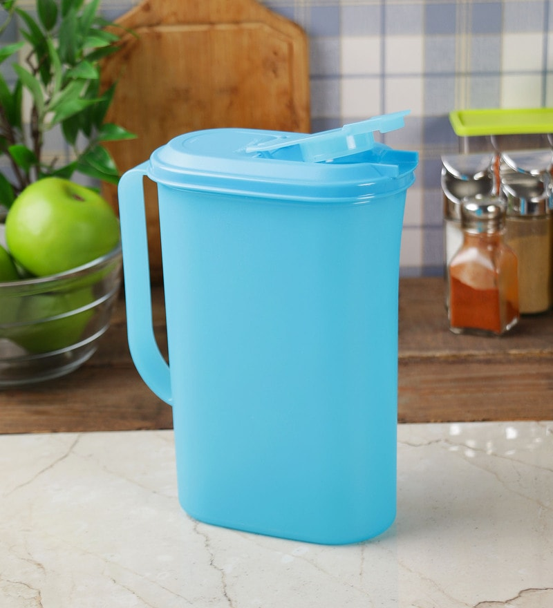 Tupperware Aqua Colour Jug with lid - 2000 ML