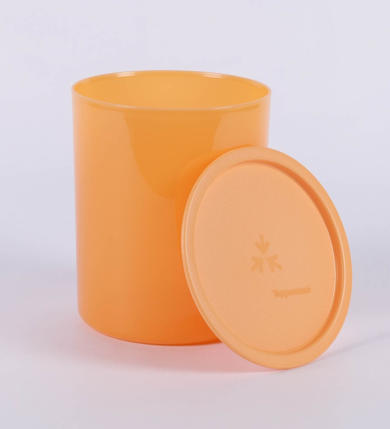 Buy Tupperware One Touch Orange 3 L Canister Online