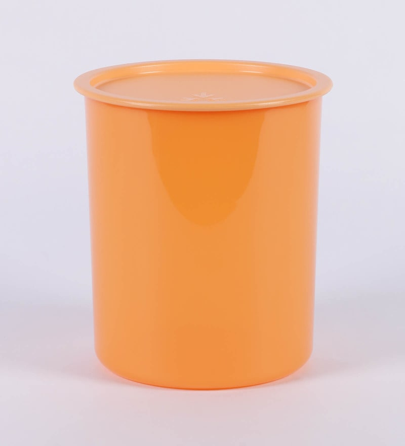Tupperware One Touch Orange 3 L Canister