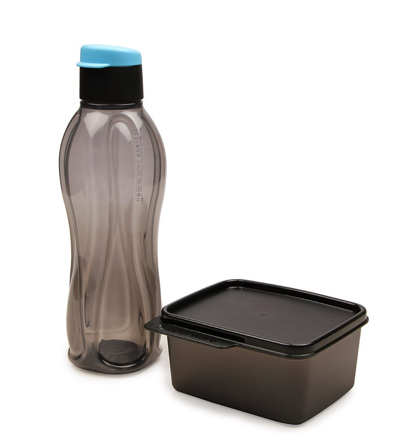 Buy Tupperware Xtreme set of 1 bottle and 1 container with  : tupperware set of 2 pcs extreme set bottle 750 ml box 160 ml tupperware set of 2 pcs extreme set b wc476k from www.pepperfry.com size 800 x 880 jpeg 33kB