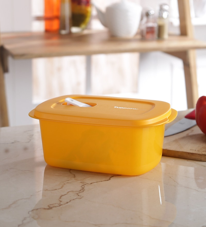Tupperware Smart Vent Rectangle 1.7L Airtight Container