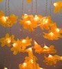 Downward Multicolour Plastic Flower Diwali String Light by Tu Casa