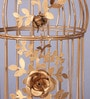 Tu Casa Brass Bird Cage Candle Holder - L