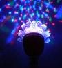 Multicolour Plastic Lotus Crystal Revolving Diwali Light by Tu Casa
