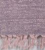Multicolour Cotton 90 x 63 Inch Geometric Carpet by Tulsiram Rugs