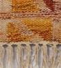 Tulsiram Rugs Multicolour Wool 90 x 63 Inch Ethnic Carpet