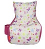 Digital Printed Kids Bean Bag Chair Cover in Multicolour by Orka
