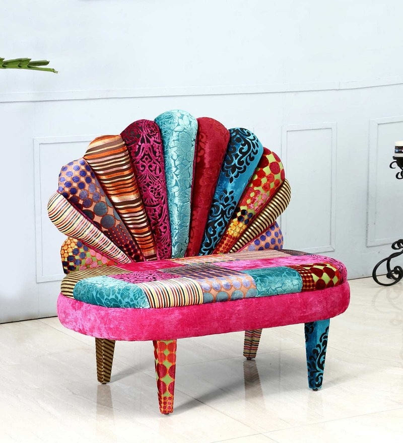 Twain Accent Chair by Bohemiana