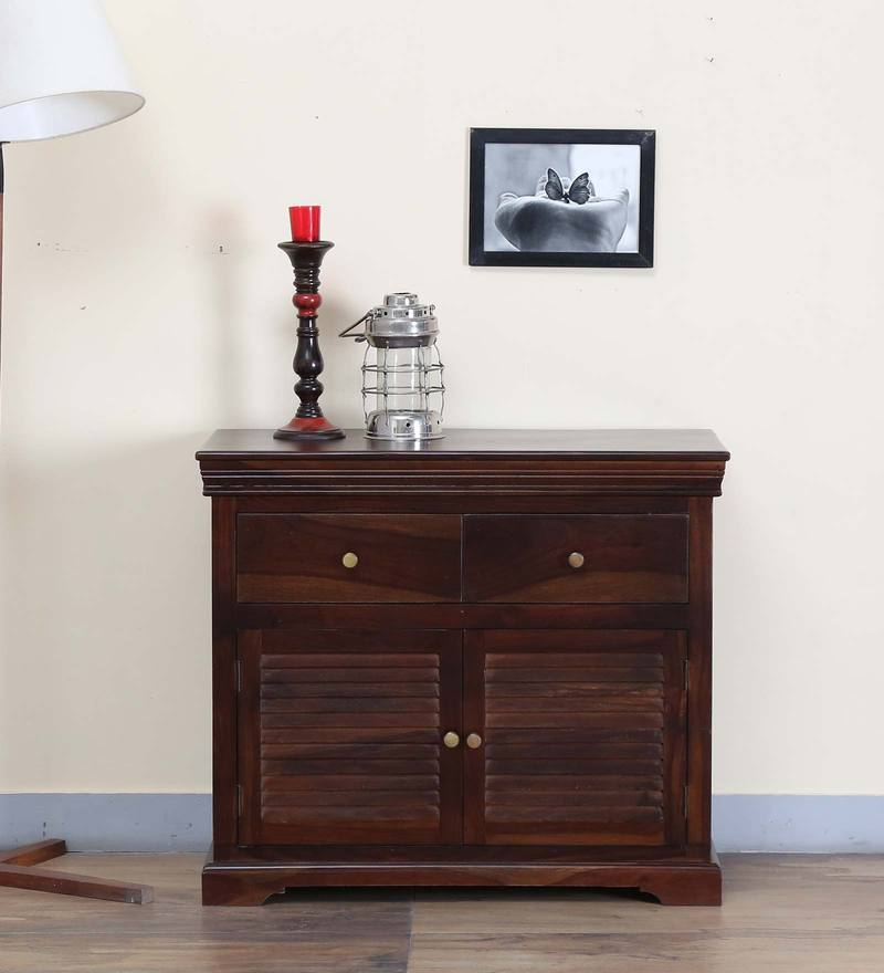 Carleson Two Door Sideboard in Provincial Teak Finish by Amberville