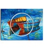 Hashtag Decor Two Boats Engineered Wood 27 x 20 Inch Framed Art Panel