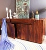 U Collection Sheesham Wood Sideboard in Provincial Teak Finish by Woodsworth