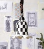 Black and White Glass Pendants by Ujjala