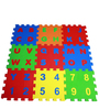 Ultimate Alpha-Numeric Puzzle Mats in Multicolour