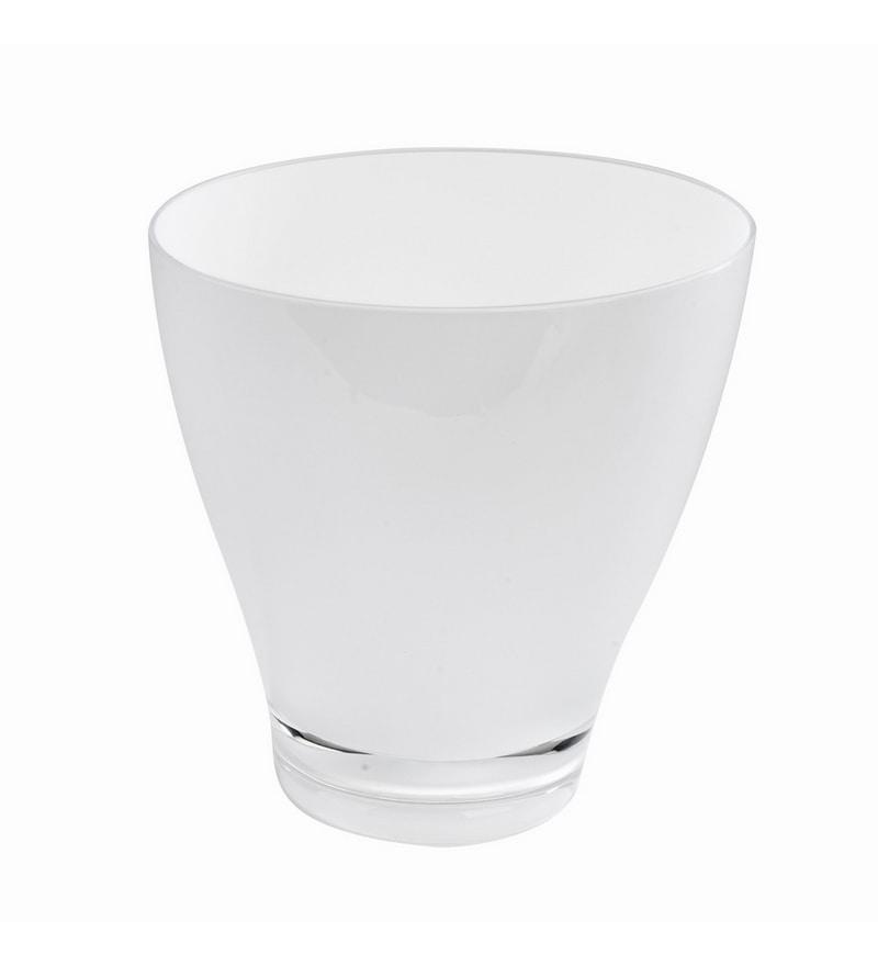 Umbra White Acrylic Dustbin