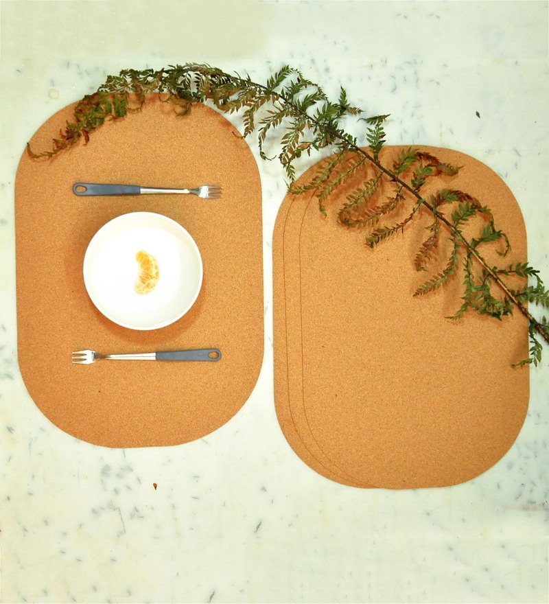 Untold Homes MDF Oval Placemats - Set of 4