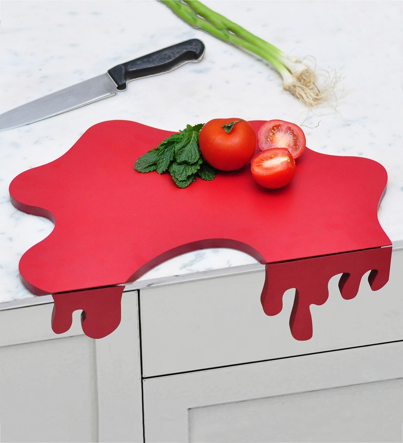 Untold Homes Tomato Splash MDF & Mica Chopping Board