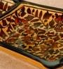 Unravel India Stoneware Platter
