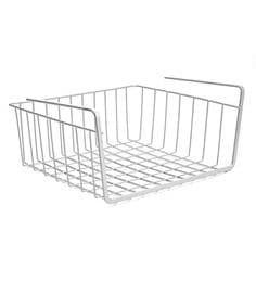 Upasana Medium Mild Steel Undershelf Basket - Set Of 2