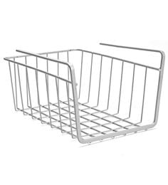 Upasana Small Mild Steel Undershelf Basket - Set Of 2