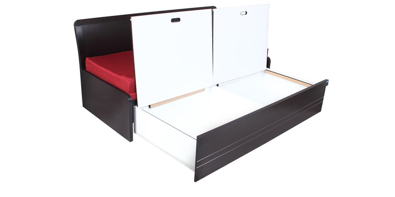 Buy Urbano Slider Storage Sofa Cum Bed By Spacewood Online