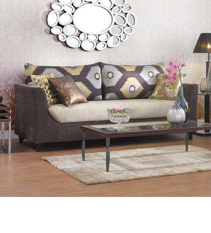 Urban Living Mumbai Glitz Sofa Set 1 Three Seater Sofa 1 Two Seater Sofa By Urban