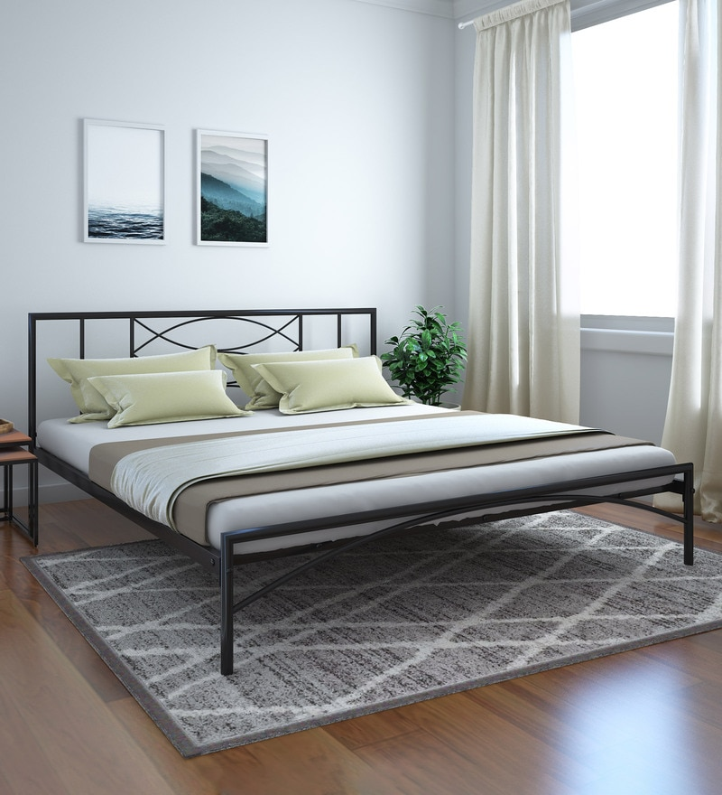 8f7e9a1337 Buy Takai King Size Bed in Wenge Finish by Mintwud Online - Modern ...
