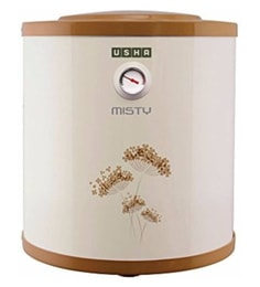 Usha 6 L Storage Water Geyser (Gold, Misty 6-Litres 5-Star Rated Storage Water Heater (Ivory Gold))