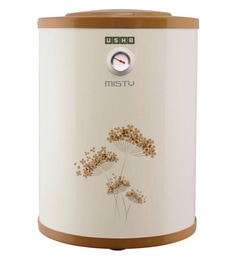 Usha Misty Storage Water Heater, Ivory Gold, 25 Litres