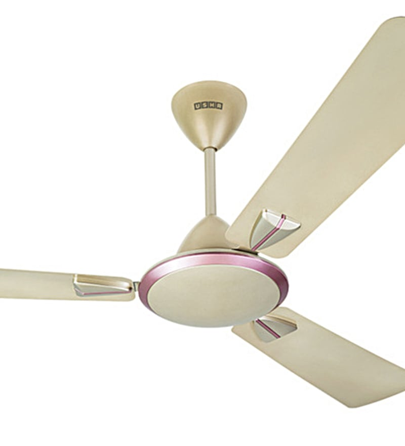 Buy usha striker 1200 mm gold ivory ceiling fan online ceiling click to zoom inout mozeypictures Gallery