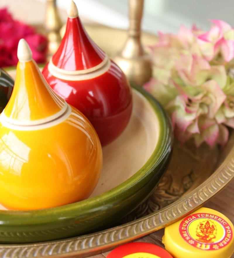 Varnam Haldi Kumkum Vibhuti Set