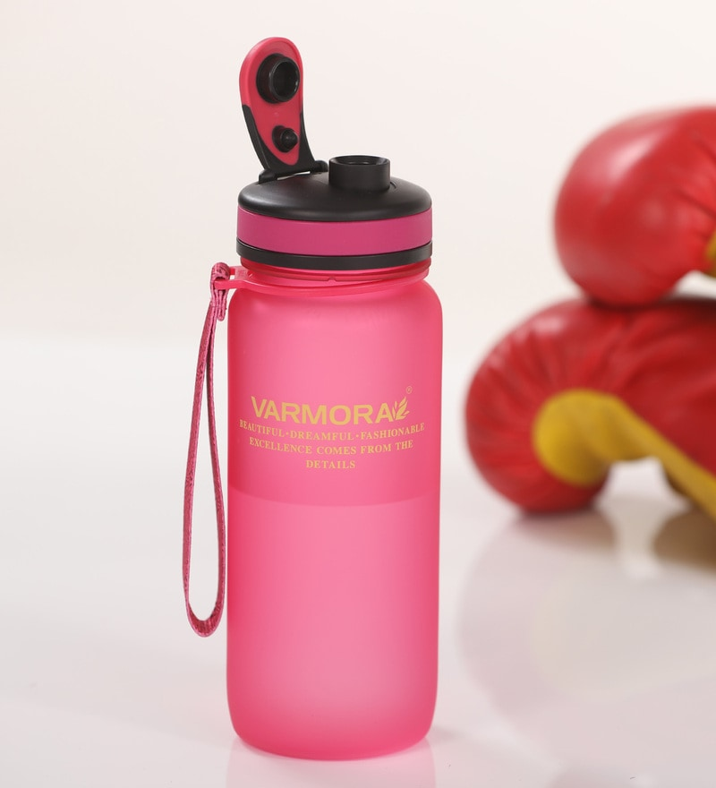 Varmora Water Splash 650 ML Pink Sipper